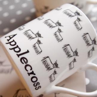 Highland Coo Fine Bone China Mug by Clement Design